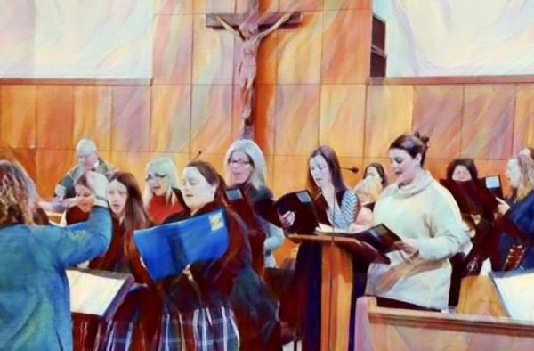 Holy Spirit Ensemble paint filter