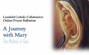 Online Prayer Service: A Journey with Mary flyer no date no link
